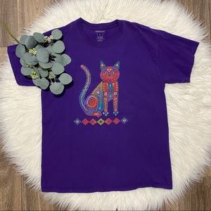 Sportex Apparel Arizona Purple Cat Shirt